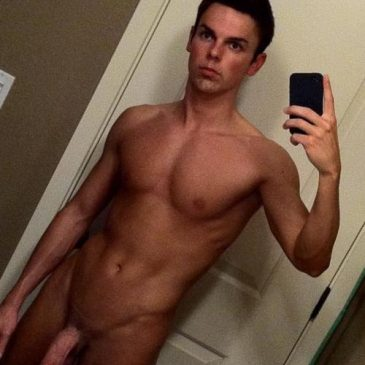 Handsome Dude Proud To Show His Long Dick