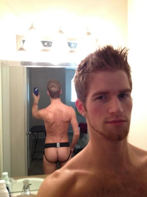 Sexy Boy Revealing His Cute Ass