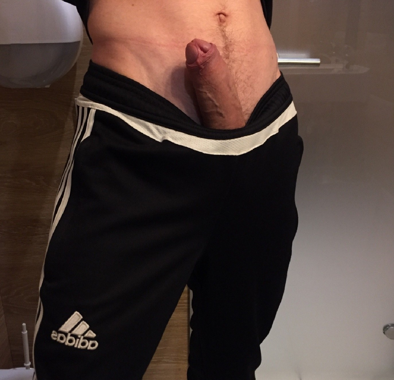 Cock Sticking Out